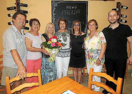 Juan Carlos Ródenas, Mª Carmen Espasa, Conchi Martínez, Conchi Delgado, Carmen Hinojosa, Herminia Espluga e Israel Aarón Castelló.