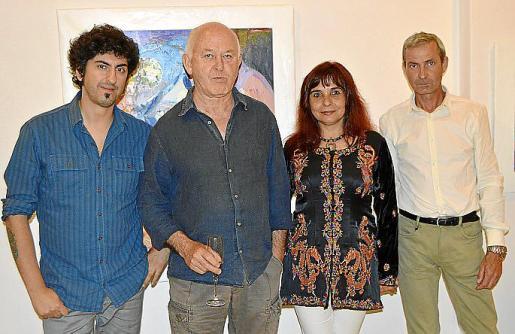 Pol Font, Luis Vidal, Amara Dacer y Pascual Molina.