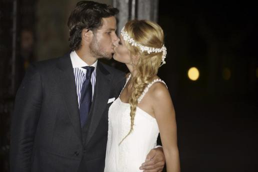 Momento de la boda entre Alba Carrillo y Feliciano López.