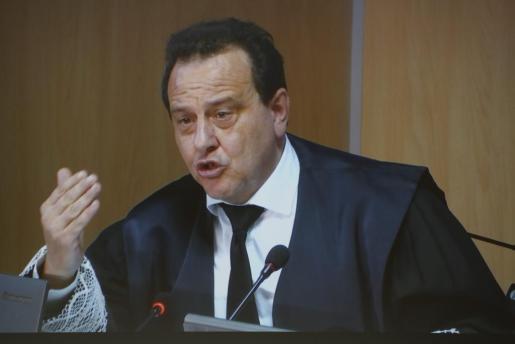 Pedro Horrach, durante uno de los momentos del juicio por el caso Nóos.