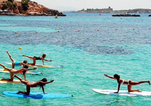 El verano llama a hacer ejercicio en lugares en los que no sería adecuado hacerlo en invierno.