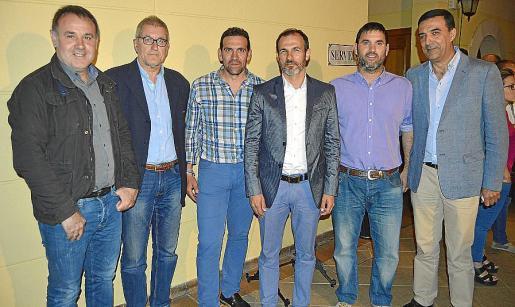 Biel Ferrà, Miquel Pascual, Guillem Villalonga, Biel Barceló, Andreu Bujosa y Jaume Servera.