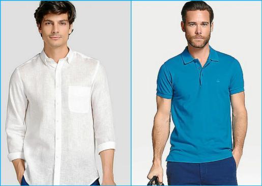 El azul y el blanco son los protagonistas de las tendencias de ropa de verano para hombre.