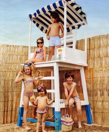 Tendencias en la moda para niños este verano 2016.