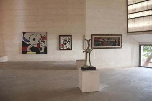 La Fundació Pilar y Joan Miró de Palma acoge la exposición 'Joan Miró. Mirades a la col·lecció'.