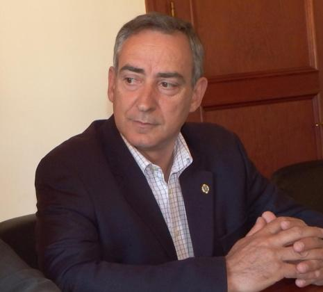 El portavoz popular en Sóller, Carlos Simarro, en una imagen de archivo.