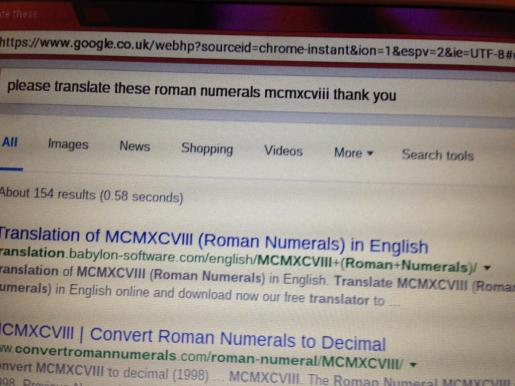 Esta es una de las búsquedas que May Ashworth, una abuela británica de 86 años, ha realizado a través de Google.
