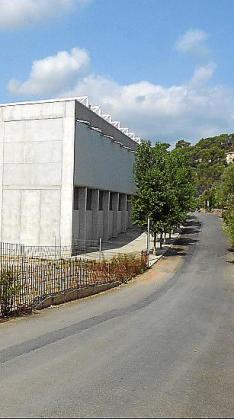 El polideportivo de Bunyola.
