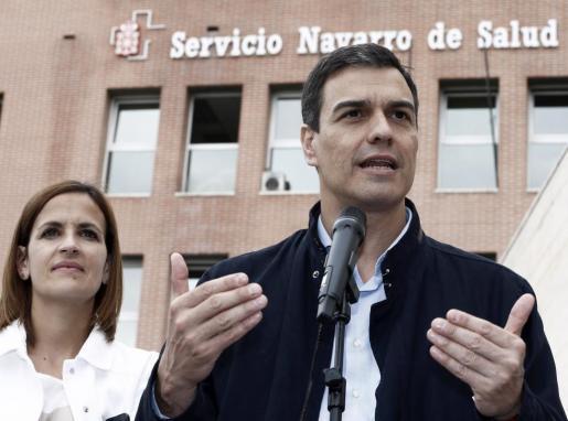 El secretario general del PSOE y candidato a la Presidencia, Pedro Sánchez.