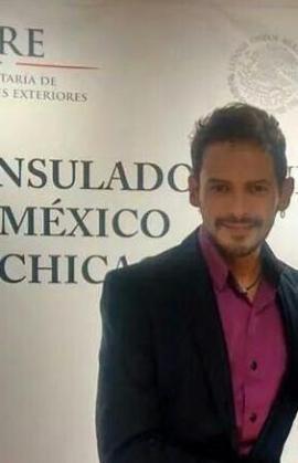 El cantante Alejandro Fuentes, en una fotografía de Twitter.