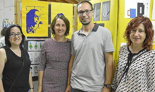 Yolanda Moreno, Violeta Ontavilla, Miquel Garau y Loli Botella.