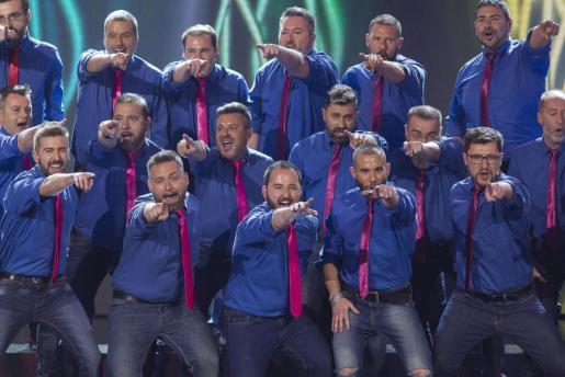 Algunos de los componentes del Mallorca Gay Men's Chorus.