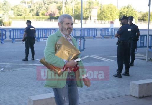 Lorenzo Caprile, a su llegada a la EBAP.