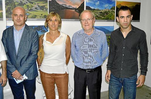 Toni Solivellas, Teresa Palmer, Ángel Morillas y Sebastián Segovia.