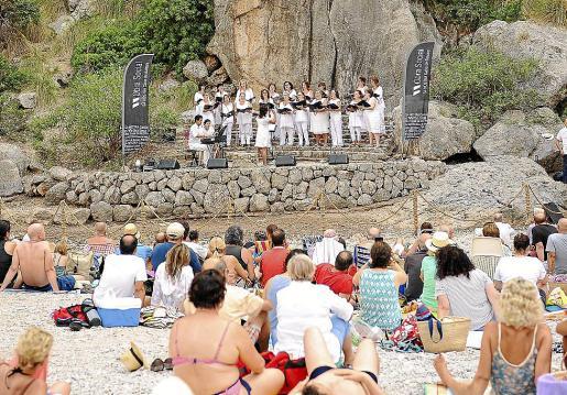 Imagen del Concert en el Torrent de Pareis, en su edición del año pasado.