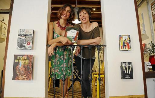 Aina Zuazaga y Flavia Gargiulo posaron en Rata Corner para esta entrevista.