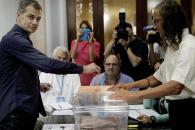 Las imágenes de las Elecciones Generales 2016