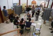 colegio electoral en Palma