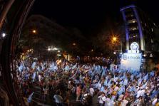 Simpatizantes del Partido Popular en Génova