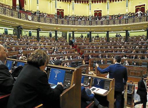 Vista general del Congreso durante una sesión de la pasada legislatura.