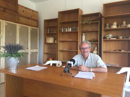 El teniente alcalde de Medio Ambiente, Àngel Garcia