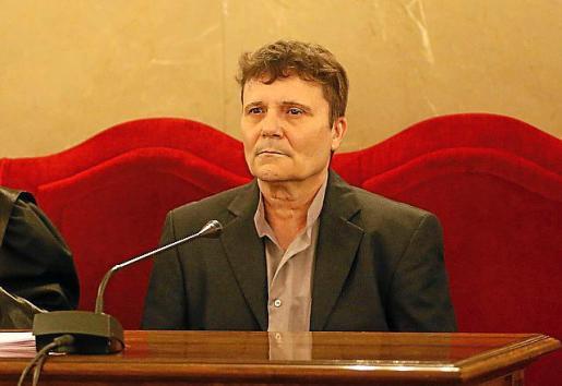 Marcos Ferragut, durante el juicio en la Audiencia.
