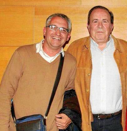 Miguel Sagreras (a la izquierda) ha mantenido muy buena relación con el presidente de la junta territorial del PP de Palma, José María Rodríguez.