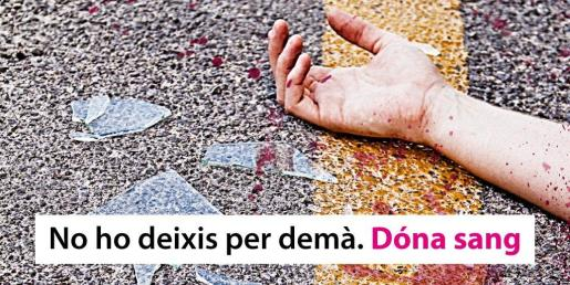 La Fundación Banco de Sangre y Tejidos de Baleares (Fbstib) ha lanzado la campaña 'No lo dejes para mañana. Dona sangre' con el objetivo de concienciar sobre la necesidad constante de donar sangre.