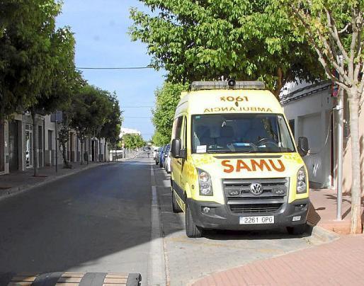 Una ambulancia ha trasladado a la niña a Son Espases.