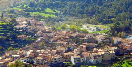 Vista de Puigpunyent.