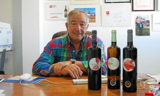 Eduardo Sánchez es el propietario de La Unión SL y un gran enamorado del mundo del vino.