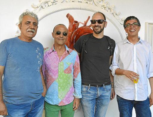 Joan Mariando, Gaspar Morey, Rafel Moreno Brunet y Adolf Gil.