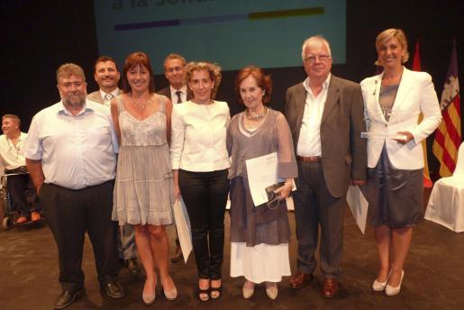 Joan Font, Jesús Mullor, Francina Armengol, Jaume Garau, Aina Calvo, Joana María Roman, Bernat Vicens y Myriam Abrisqueta.