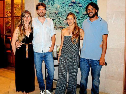 Mar Bauzá, Tomeu Canyellas Moragues, Carmen Guerra y Álex Villa.