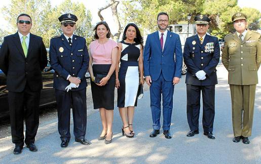 Martí Capó, José Antonio Bravo, Antonia Fuster, Angélica Pastor, José Hila, Josep Palouzié y Juan Ramis.