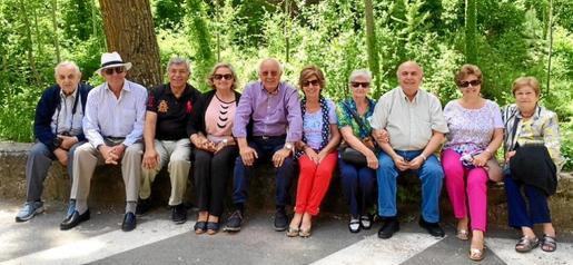 Sebastià Ginart, Juan Company, Ramón Pérez, Petri Galmés, Sebastián Rubí, María Llaneras, Margarita García, Manolo González, Ana María Caldentey y Paquita Serrano.