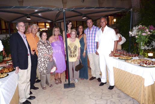 Miquel Lladó, Joan Sempere, Juana Canals, Rafi Córdoba, Paula Gual, Joana Walker, Tonina Bestard, Ramon Servalls y Pascual de Cabo.