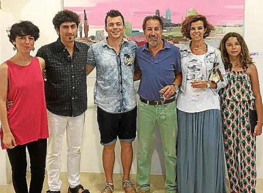 Cati Bennàssar, Pol Font, Rubén Martín de Lucas, Martí Colom, Francisca Martorell y Joana Colom.