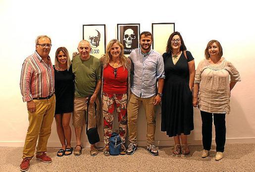 Antoni Torres, Bel Fullana, Andreu Maimó, Aina Rovira, Xisco Duarte, Caterina Amengual y Dolors Pérez.