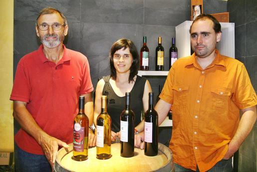 Andreu Oliver, Mireia Oliver y Andreu Oliver, de Can Majoral.