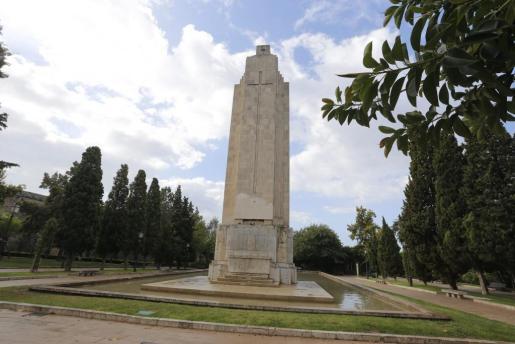 Imagen del monumento de sa Feixina.