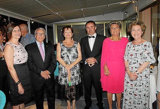 Margarita Dahlberg, Jaime Sastre, Montserrat América, Toni Garí, María Ramon y Cati Aguiló.