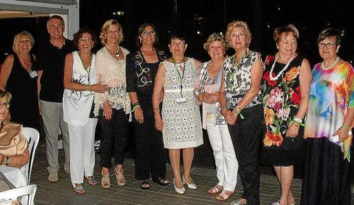 Toñy Rover, Jaume Tomàs, Susy Pérez, Bárbara Pons, Juana Martín, Catalina Pou, Isabel Capellá, Aina Mª Salvá, María Garcías y Anita Sitjar.