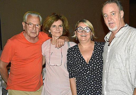 Mauricio d'Ors, Adriana Huarte, Antònia Borràs y Vincent Fouillat.