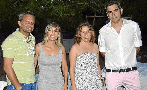 Guillem Fiol, Malen Munar, Caterina Ramis y Quim Torres.