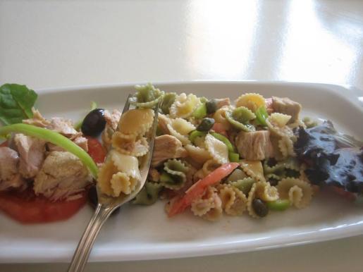 La ensalada de pasta y bonito de Margarita Lavado.