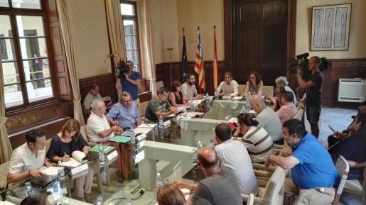 Reunión de la Mesa General del Empleado Público este miércoles