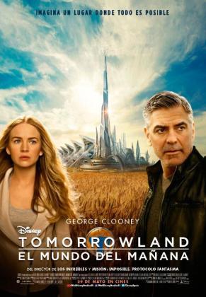 Cartel promocional de la película protagonizada por George Clooney estrenada el 29 de mayo del 2015.