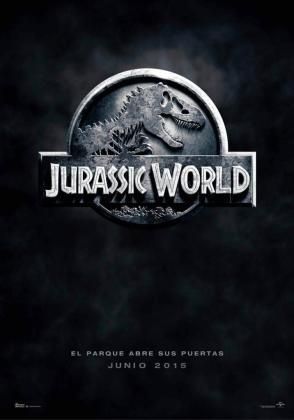 Carátula del póster del largometraje en el que los dinosaurios son los protagonistas.