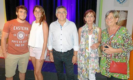 Pedro Tomàs, Georgina de Diego, Toni Rodríguez, Susana de Cortada y Ana Thorborg.